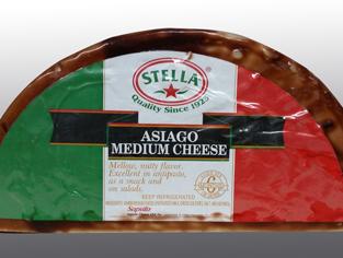 Peacock Cheese - Stella Asiago Mellow