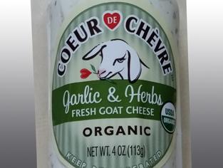 Peacock Cheese - Mont  Chevre Coeur de Chevre Garlic & Herb