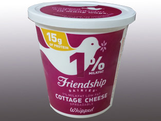 Strange Peacock Cheese Whipped Low Fat Cottage Cheese Home Interior And Landscaping Fragforummapetitesourisinfo